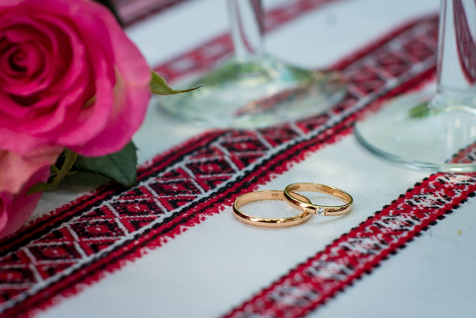 Ukraine wedding rings